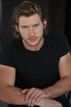"Greyston Holt, currently starring as Clay in tv's ""Bitten"", born in Calgary, Alberta, Canada"