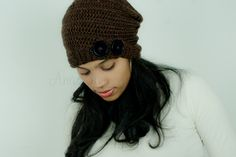 Autumn slouchy hat,