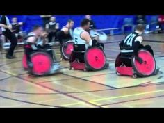 Wheelchair Rugby Hard Hits