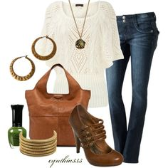 Casual Crochet, created by cynthia335 on Polyvore
