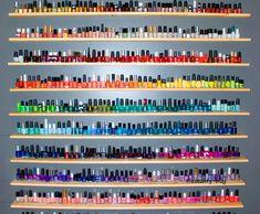 dream come true, heaven, nailpolish, nail polish colors, nail polish collection, bathrooms, hous, closet, rainbow