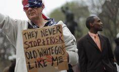 supporter of Trayvon Martin