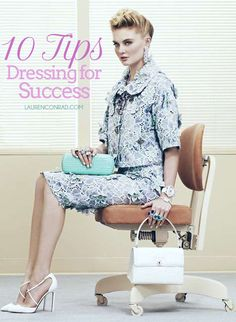 10 style trick that show you mean business in the workplace {these are great}