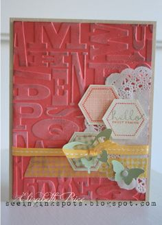 Seeing Ink Spots: Stampin' Up! Six-Sided Sampler