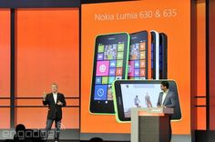 Nokia announces the budget Lumia 630 and 635 with Windows Phone 8.1. 630 (3G) 635 (LTE) both run between $169-189 great for families looking for cheap unlock phones. Quad Core S4 PRO Windows Mobile 8.1