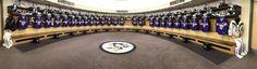 The Pittsburgh Penguins jerseys on #HockeyFightsCancer Awareness night. (Photo by: @RealDanaHeinze)