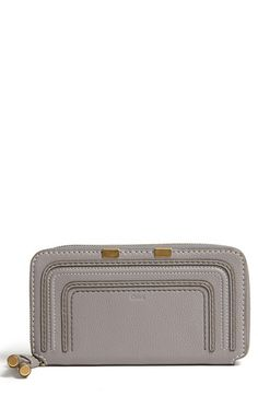 Chloé 'Marcie - Long' Zip Around Wallet | Nordstrom