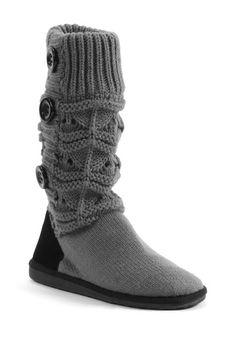 Jamie Short Knit Boot - Shadow on HauteLook