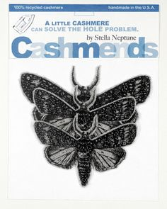 Fix holes in cashmere with Cashmends Iron-On Cashmere Bandaid Moths - Light Grey