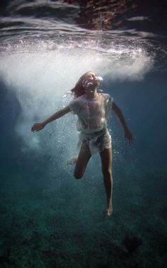 the dream in which I can dream under water
