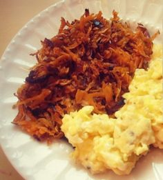 The easiest and most delicious way to make sweet potato hash browns!