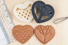Wedding Cookie Cutter DIY Heart Shaped Cookies Favors ETSY.com  30 US Dollar
