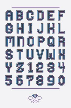 Gooder Typeface by Nick Moore, via Behance