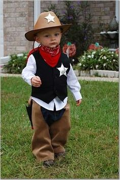 Cowboy costume for toddler