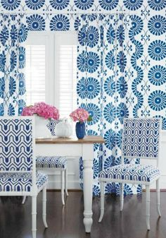 Thibaut's New Resort Collection Rocks / The English Room Blog