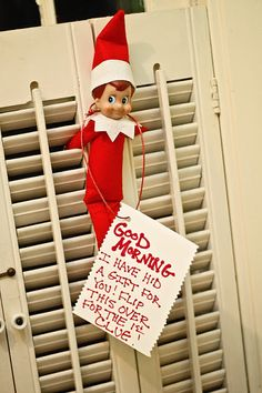 Mama Belly Blog: Elf on the Shelf