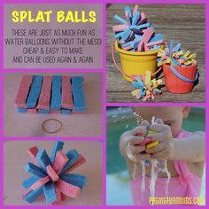 Fun Summer Activity! DIY Splat Balls!