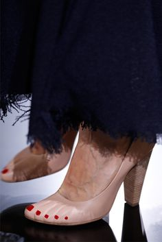 I don't know about anyone else, but in my experience, women don't really want shoes that look like feet.  If we did, we'd wear sandals...oh, wait...