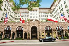 At the base of Rodeo Drive, on Wilshire Boulevard is one of Beverly Hills' oldest and most luxurious hotels, Beverly Wilshire, A Four Seasons Hotel. The legendary building features nearly 400 rooms and suites, and has maintained a cultural presence in Beverly Hills for almost a century.