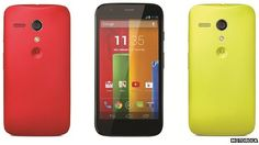 Moto G.  Bought this today to replace my 3 year old HTC incredible s.  Great so far.