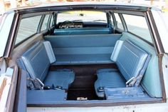 Remember the fold-up seats in the back of a station wagon??