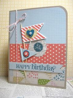 by Lianne Carper using the Hearts a Flutter, Curly Cute, and Mixed Medley stamp sets by Stampin Up!
