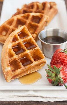 100% Whole Wheat Waffles by Traceys Culinary Adventures