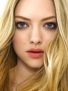natural makeup, dark eyes, big eyes, bridesmaid makeup, lip colors