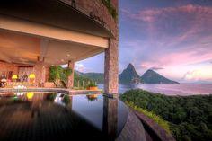 Paradise Island | Jade Mountain, St. Lucia