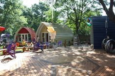 arched cabins multiple