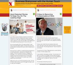 Content Curation with The Learning Factor - Let us help you stay connected, educated and networked by filtering some of the most interesting and relevant business content for you. Right here, we become your personal content curator, putting you in touch with the hottest, most interesting and most valuable business resources from around the world.