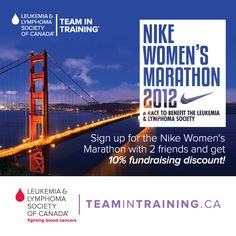 Nike Women's Half Marathon with Team In Training!  Can't wait to hit the pavement with you @Sooner Schimming!