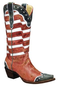 usa flag, red white and blue boots, cowgirl boots, usa boot, boot scootin, corral flag boots, boot red, blue usa, corral boots flag