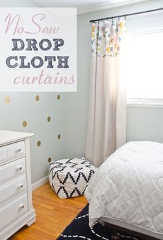 DIY No Sew Drop Clot