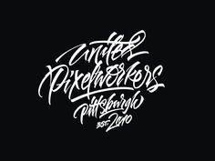 Recent logos and lettering works, part 4 by Sergey Shapiro, via Behance