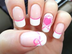 Breast cancer awareness <3 - Nail Art Gallery by NAILS Magazine
