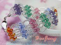 bracelet diy, bead bracelet, diy fashion, decorating ideas, diy gifts, hand made, bead jewelri, cuff bracelets, bead weaving
