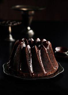 Chocolate Espresso Bundt Cake by Sweetapolita