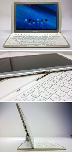 What should they call it?   A. Laplet   B. Tabtop    Archos Gen10 XS Tablet with a detachable magnetic keyboard