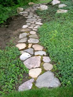 Pathways on pinterest stone paths stone pathways and garden paths