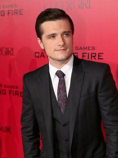 Josh Hutcherson - 'The Hunger Games: Catching Fire' Premieres in LA — Part 2