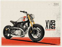 Classified Moto — XV920 Debut Print