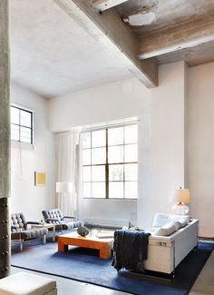 concrete & light, New York City loft