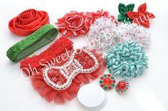 ChristmasHoliday  DIY Headband Kit