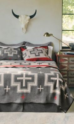 Pendleton Woolen Mills: San Miguel Blanket Collection