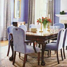 Eric Cohler Purple Dining Room