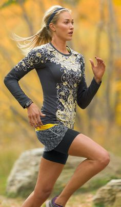 Fall fitness gear, working hard never looked this good.