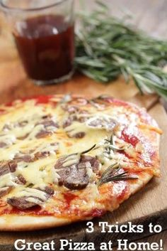 Learn How to Make Amazing Pizza at Home