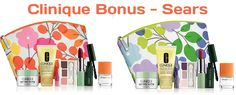 Pinks or Violets? Exclusively at Sears CA. FREE Clinique gift with $31.00 purchase. http://clinique-bonus.com/canada/