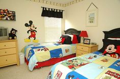 kids mickey mouse room